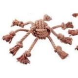 Hračka pes Chobotnice 8,5x10 cm bavlna KAR 1ks