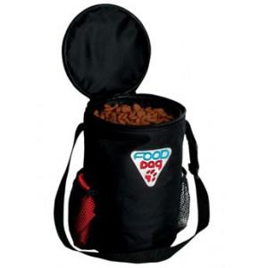 Miska nylon cestovní na krmivo 1,8 l+zásobník 1,5 kg TR