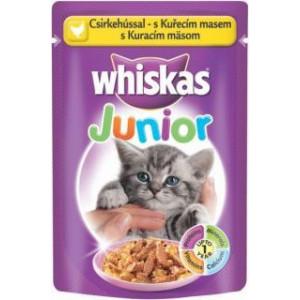 Whiskas kapsa Junior s drůbežím masem 100g