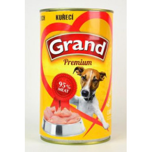 GRAND konzerva pes drůbeží 1150 g