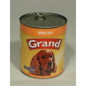 GRAND konzerva pes krocaní 850 g