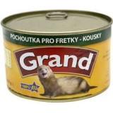 GRAND konzerva fretka mas.kousky 405 g