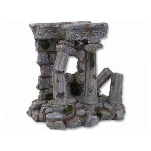 Dekorace AQUA EXCELLENT antické sloupy 14,3 x 12 x 14,4 cm 1ks