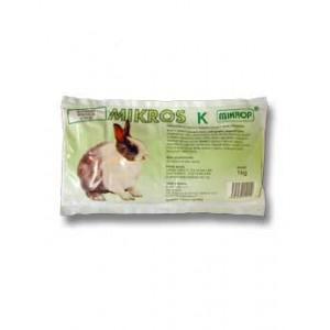 Mikros K pro králíky plv 1 kg