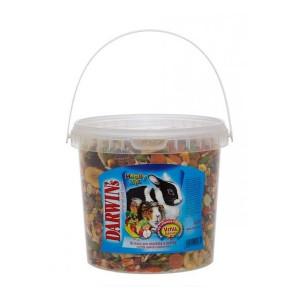 Darwins Happy mix morče a králík 2,3 l
