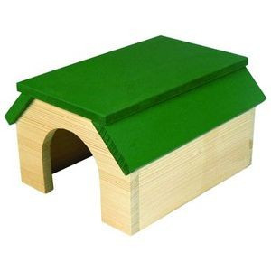 Domek dřevo morče Limara 19,6 x 22,7 x 12,7 cm