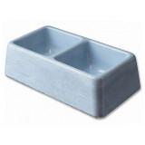 Dvojmiska BE-MI betonová 2 x 300 ml 600ml