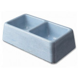 Dvojmiska BE-MI betonová 400 a 600 ml 1000ml