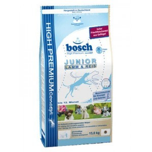 Bosch Dog Junior Lamb&Rice 15 kg