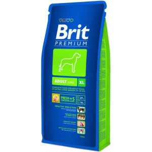 Brit Premium Dog Adult XL 15 kg + 3 kg ZDARMA