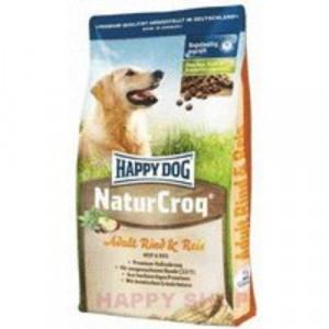 Happy Dog Natur Croq Rind&Rice 15 kg