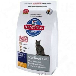 Hills Feline Dry Adult Mature 7+ Sterilized 3,5kg