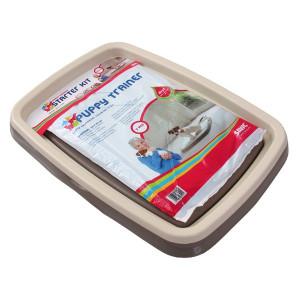 Toaleta + podložky SAVIC Puppy Trainer M 1ks