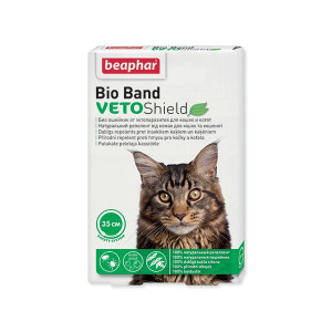 Obojek repelentní BEAPHAR Bio Band Veto Shield 35 cm 1ks