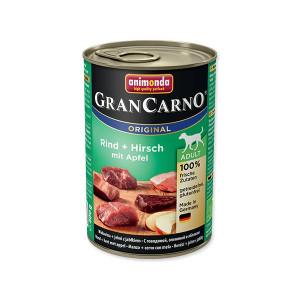 Konzerva ANIMONDA Gran Carno hovězí + jelení + jablka 400g