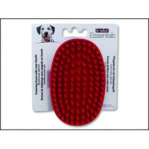 Kartáč LE SALON Essentials gumový dlaňový 1ks