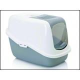 Toaleta SAVIC Nestor bílo-šedá 56 cm 1ks
