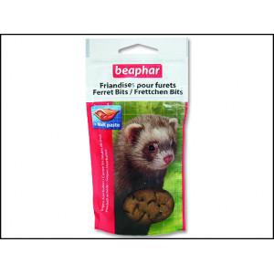 Pochoutka BEAPHAR Ferret Bits s malt pastou 35g