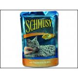 Kapsička SCHMUSY Fish tuňák + rýže v želé 100g
