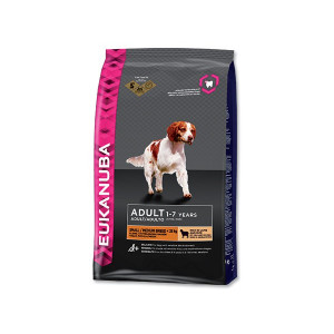 EUKANUBA Adult Small & Medium Lamb & Rice 12kg
