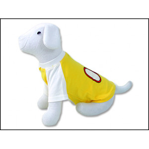 Triko DOG FANTASY Sport 08 žluté XS 1ks