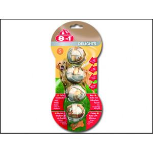 Koule 8 in 1 Delights žvýkací S 4ks
