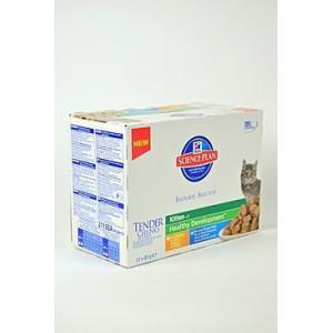 Hills Feline kapsa Kitten Multipack Ch.,Oc.F. 12x85g