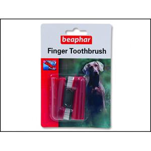 Zubní kartáček BEAPHAR Dog-A-Dent na prst 1ks