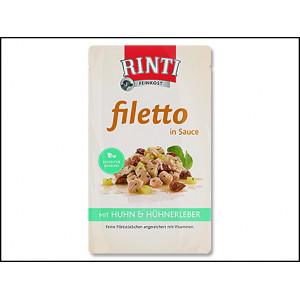 Kapsička RINTI Filetto kuře + kuřecí játra ve šťávě 125g