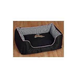 Pelech Snoozzzeee Candy Stripe sofa 58 cm růžový 1 ks
