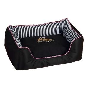 Pelech Snoozzzeee Candy Stripe sofa 68 cm růžový 1 ks