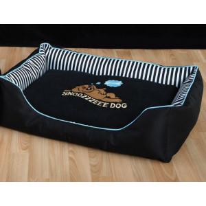 Pelech Snoozzzeee Candy Stripe sofa 68 cm modrý 1 ks