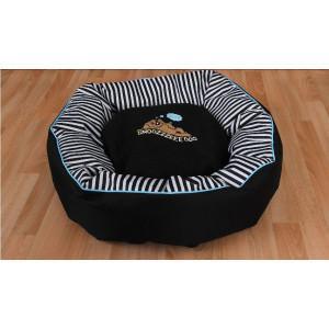 Pelech Snoozzzeee Candy Stripe donut 51 cm modrý 1 ks