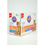 Hills Feline kapsa Adult Multipack Ch.,O.F.,B 12x100g