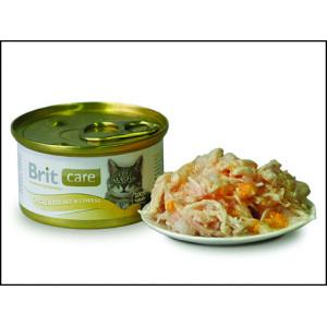 Konzerva BRIT Care chicken breast & cheese 80g