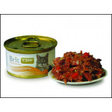 Konzerva BRIT Care Cat Tuna, Carrot & Pea 80g