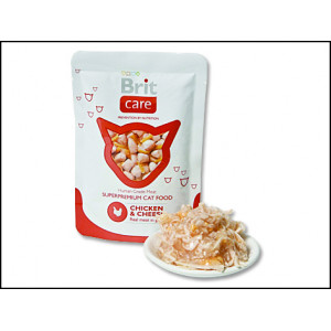 Kapsička BRIT Care Cat Chicken & Cheese 80g