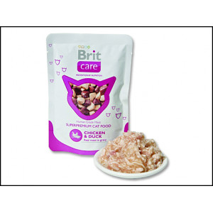 Kapsička BRIT Care cat chicken & duck 80g