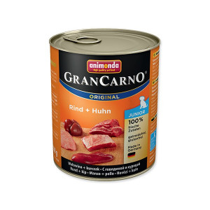 Konzerva ANIMONDA Gran carno junior hovězí + kuře 800g