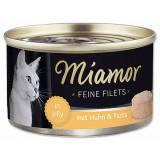 Konzerva MIAMOR Feine Filets kuře + těstoviny v želé 100g