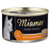 Konzerva MIAMOR Feine Filets tuňák + křepelčí vejce v želé