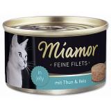 Konzerva MIAMOR Feine Filets tuňák + rýže v želé