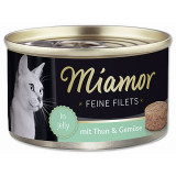 Konzerva MIAMOR Feine Filets tuňák + zelenina v želé