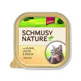 Vanička SCHMUSY Nature kuře + losos 100g
