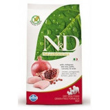 N&D Grain Free DOG Adult Chicken & Pomegranate 12kg (DOPRAVA ZDARMA)