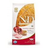 N&D Low Grain CAT Adult Chicken & Pomegranate 10kg (DOPRAVA ZDARMA)