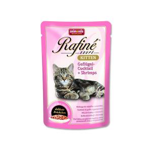 Kapsička ANIMONDA Rafine Kitten drůbeží + krevety 100g