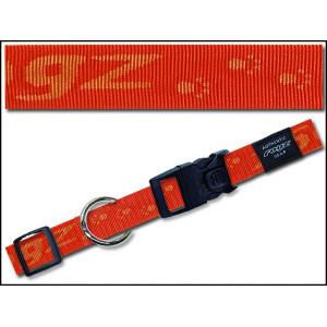 Obojek ROGZ Alpinist oranžový L 1ks