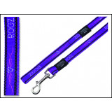 Vodítko ROGZ Fancy Dress JellyBean Purple Chrome S 1ks
