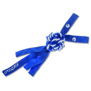 Hračka ROGZ CowBoyz provazová modrá L 1ks